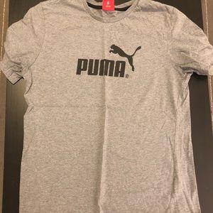 Vintage Gray Puma Tee